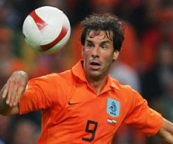 Van Nistelrooy still has a chance of making the cut if Huntelaar fails to be fit in time.