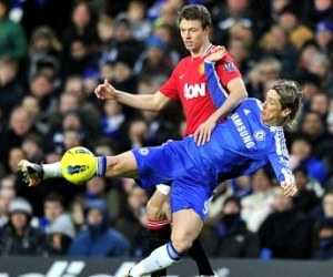Chelsea play Manchester United at Stamford Bridge in the English Premier League on Sunday, October 28, 2012.