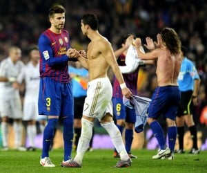 Barcelona vs Real Madrid live from the Camp Nou stadium on Saturday, April 21. Cristiano Ronaldo could star in the contest.