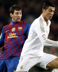 Lionel Messi and Cristiano Ronaldo go into El Clasico as joint top scorers with 41 goals each.