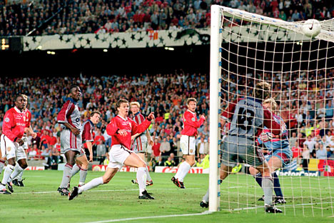 Bayern Munich lost the final in 1999 to Manchester United