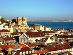 A view of Portugal's capital, Lisbon