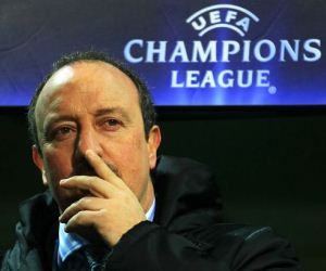 Rafael Benitez would welcome the chance of managing a club in the UEFA Champions League.