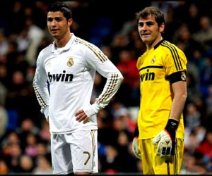 Cristiano Ronaldo and Iker Casillas will be under the spotlight during Real Madrid's first La Liga match in 2013 against Real Sociedad.