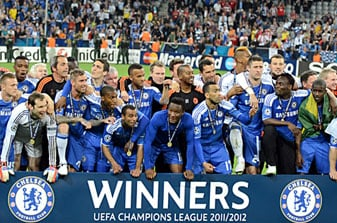 Chelsea won the UEFA Champions League for the first time in their history on May 19, 2012.