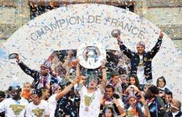 Montpellier won the French Ligue 1 on May 20, 2012.