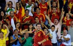 Spain reach the 2010 World Cup. The fans are excited.