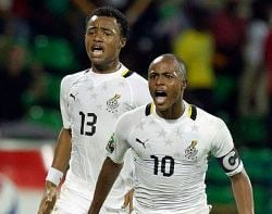 The Ayew brothers are the future of Ghana.