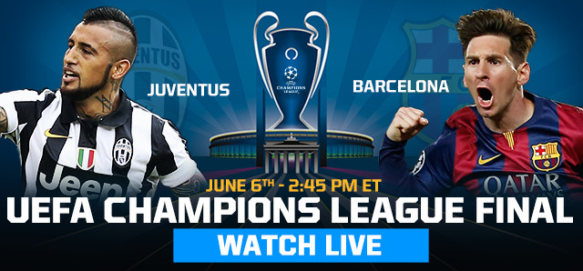 Watch the Champions League Final Live