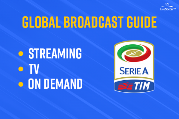 Official global broadcast guide for Serie A 2018-19: fixtures time