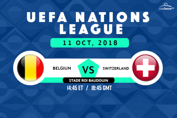 Belgium Vs Switzerland Uefa Nations League Broadcast Listings Live Soccer Tv